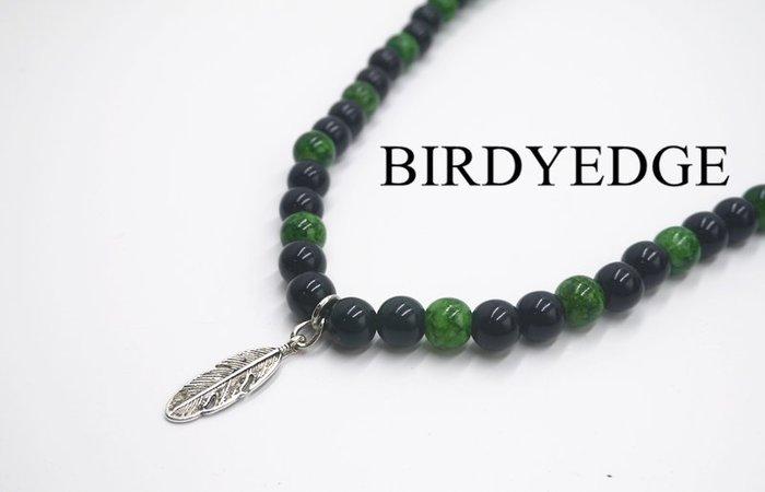 BIRDYEDGE 黑色叢林 羽毛項鍊 珠子 項鍊 潮流項鍊 街頭 necklace  oversize style