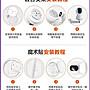 (24小時內發貨不用等)台灣現貨 小米米家智慧攝影機 雲臺版 1080P 台灣可用 360°視角 紅外夜視 可對話 非米家小白 小方 攝影機