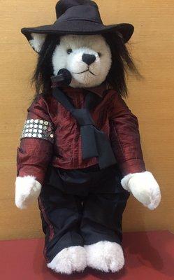 Hermann teddy bear 泰迪熊 Michael Jackson 麥可傑克森 全球限量500