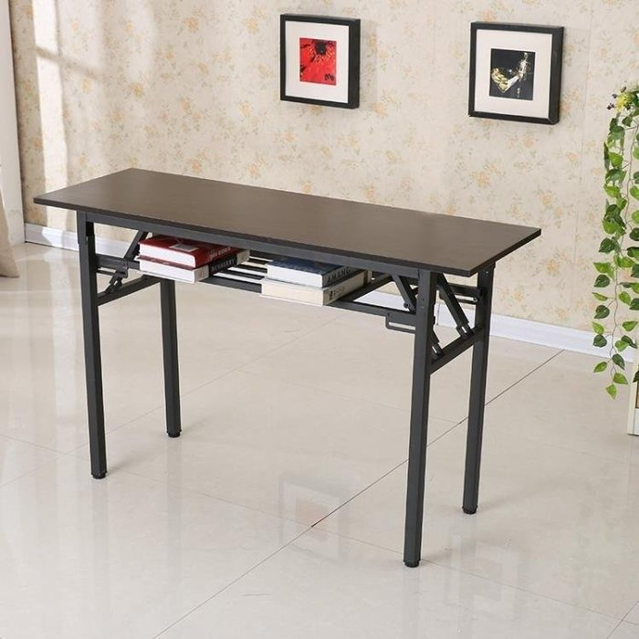 YEAHSHOP 折疊桌辦公桌餐桌電腦桌 60*40*75Y185