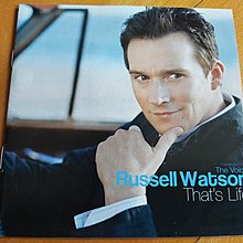 Russell Watson That's Life港版CD無花98%新 When I Fall In Love(Nat King Cole)Smile