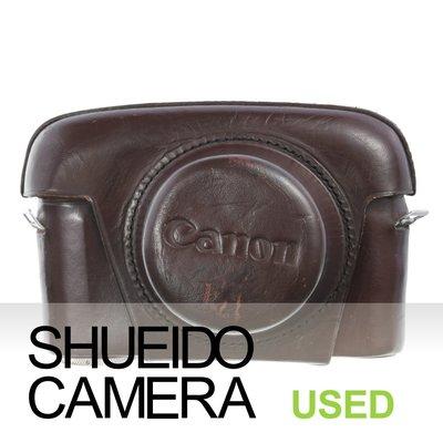 集英堂写真機【全國免運】良品 CANON L1 L2 L3 底片相機用 原廠皮套 保護套 #4 20508