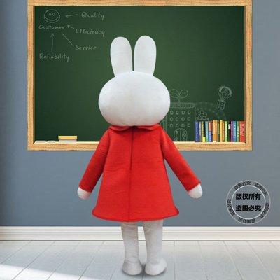 聰明兔卡通人偶服裝兔子行走人偶表演服裝卡通玩偶人偶道具服裝