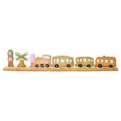 【JPGO日本購 】日本進口 CAKELAND 烘焙用品 餅乾模型壓模.模具~連結汽車 #011