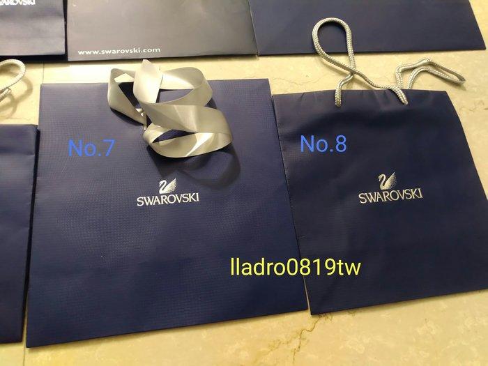 (全新No.8)施華洛世奇 水晶專用 原廠 紙提袋 紙袋 精品 名牌提袋 SWAROVSKI