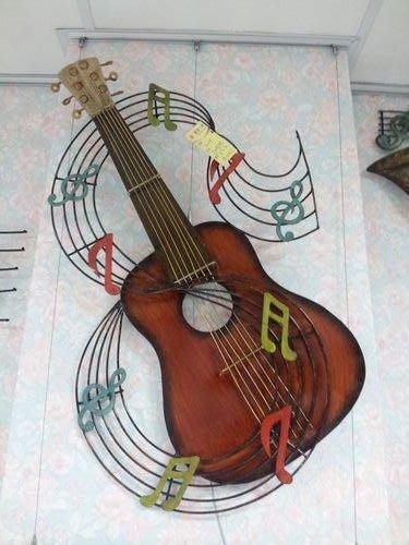 美生活館 鄉村 全新 吉他 音符 音樂 掛飾/掛畫-- 音樂 音符 提琴 音樂教室 自用 送禮適宜