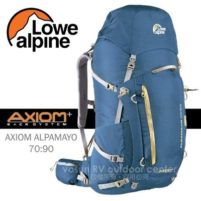 【英國 LOWE ALPINE】出清75折》AXIOM ALPAMAYO 70:90 登山背包_附攻頂包 FBP60BO