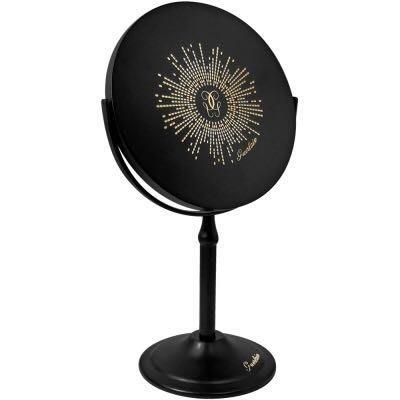 嬌蘭 Guerlain 『限量』黑色金屬材質桌鏡 全新品(附盒) ~~