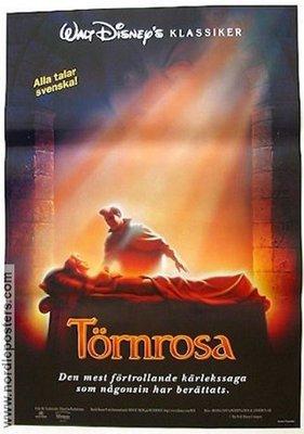 睡美人-Tornrosa(1959)歐洲版原版電影海報
