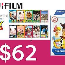 [DJS LIFESTYLE] Fujifilm instax mini film Toy Story 4 富士即影即有菲林相紙迪士尼反斗奇兵玩具總動員 $62