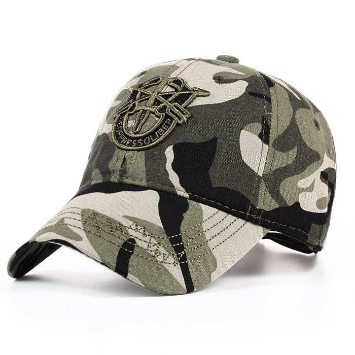 FIND 韓國品牌棒球帽 男女情侶 軍綠迷彩美國軍隊 時尚街頭潮流 帽子 太陽帽 鴨舌帽 棒球帽