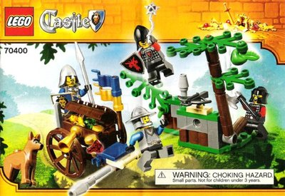 全新現貨 70400 LEGO Castle Forest Ambush
