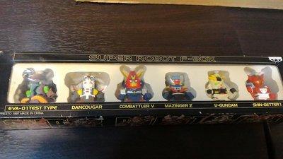 絕版收藏 SUPER ROBOT F-BOX 日版 超級機器人大戰 Q版 盒裝發條玩具 現貨~