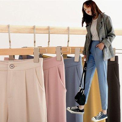西裝褲 直筒寬鬆垂感哈倫褲及西裝褲S~3XL 艾爾莎 【TAE7915】