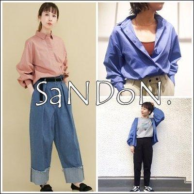 SaNDoN x『KBF』春季期間限定 捲袖彈性立體輪廓袖襯衫上衣 URBAN RESEARCH 180305