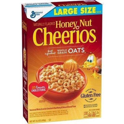 【山姆柑仔店】美國 Cheerios 蜂蜜堅果穀片 早餐麥片 306g