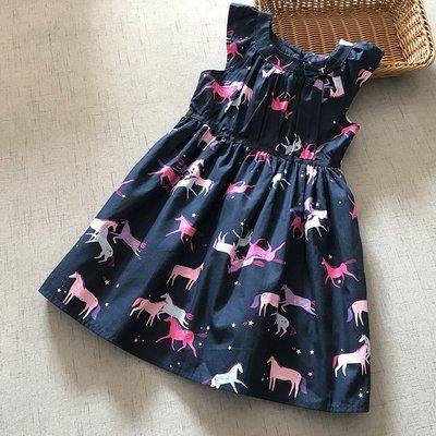 【Mr. Soar】 D454 夏季新款 歐美style童裝女童洋裝連衣裙 現貨
