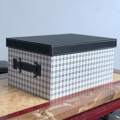 【現貨】 衣櫃整理家用整理箱儲物箱衣柜衣帽間收納盒皮革創意大號加厚臥室雜物箱