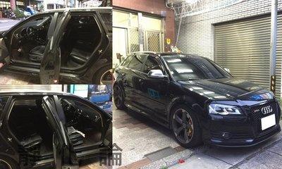 ☆久豆麻鉄☆ Audi A3 可用 (四門氣密) 全車隔音套組 汽車隔音條 靜化論 芮卡國際 公司貨