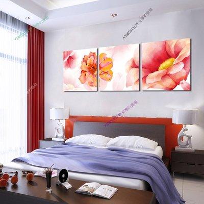 【60*60cm】【厚1.2cm】經典花卉-無框畫裝飾畫版畫客廳簡約家居餐廳臥室牆壁【280101_329】(1套價格)