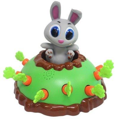 開心拔蘿蔔 桌遊 兔子拔蘿蔔(附電池)/一個入(促600) WS5360 桌上遊戲 Bunny 兔寶寶 抓兔子 兔子蘿蔔