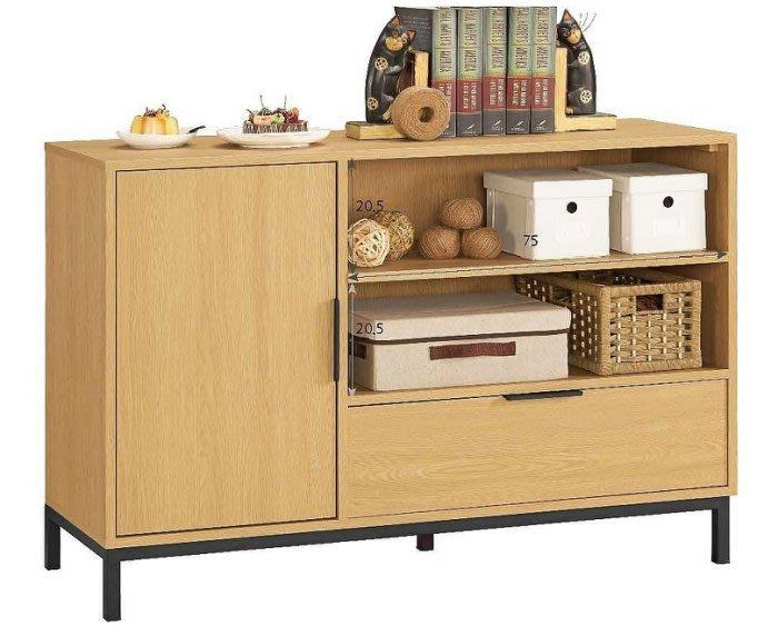 【DH】商品貨號G937-3商品名稱《斯拉達》四尺收納櫃。簡約雅緻經典。主要地區免運費