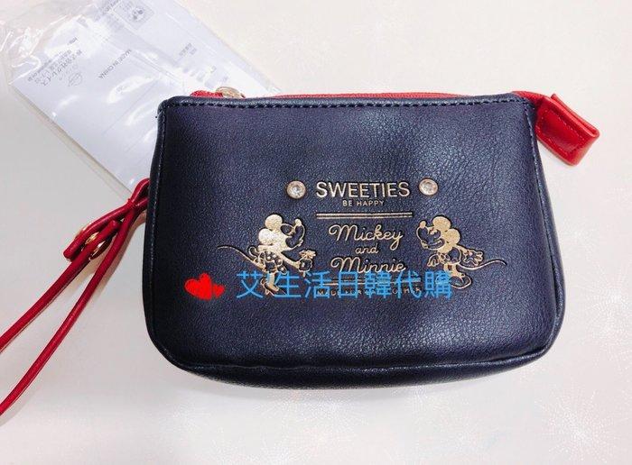代購現貨  日本品牌(Lindsay)Mickey&Minnie 零錢包 票卡包