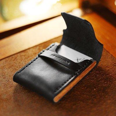 真皮卡包超薄零錢包個性創意卡套簡約便攜小眾卡包皮質005