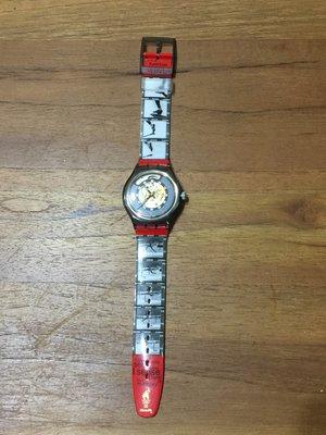 Swatch 機械錶 自動上鍊錶 限量錶 1996 亞特蘭大奧運紀念 Honour and Glory