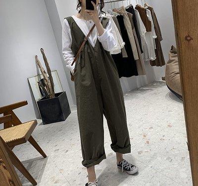 ☆Bubble Lady ☆ 【H70】日系寬鬆減齡顯瘦連身褲