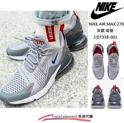免運 夏款 Nike Air Max 270 狼 灰 CD7338-001 WOLF GREY 網面 氣墊 ~美澳代購~