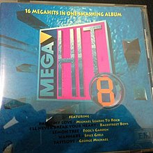 二手CD  MEGAHIT 8 16 MEGAHITS IN ONE SMASHING ALBUM~EMI1996