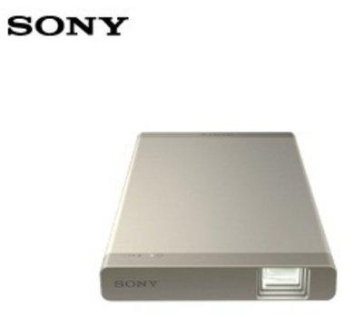 金色 SONY MP-CL1A 二手保固七日 隨身 行動 微型 投影機 支援 藍牙 功能(音頻輸出) 簡報 影片 機況新