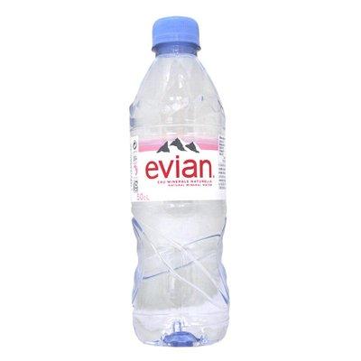 【易油網】evian天然礦泉水(500ml x 24瓶) #99651