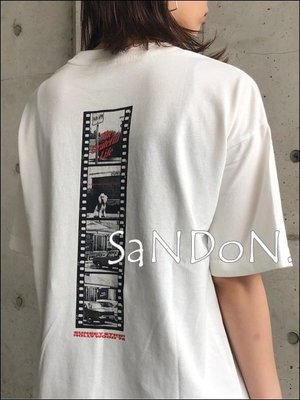 山東:THE GRATEFUL LIFE Tシャツ 限量官網完售黑白電影四格畫印膠照片字母短TEE 200612