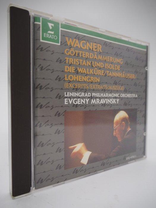 【月界二手書店】Wagner/Preludes…_Evgeny Mravinsky_華格那歌劇選曲_古典樂〖專輯〗CIR