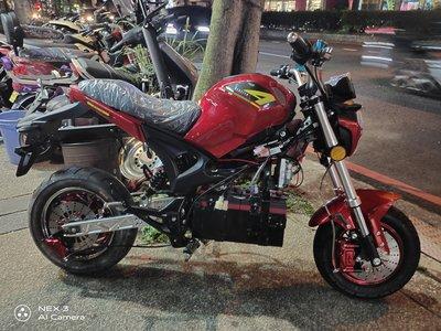 電動檔車 電動自行車 72v小怪獸 2000w電機 免駕照 電動機車 電動摩托車 全新車特價45000元 可改鋰電池 鋰鐵電池 YH E-Bike