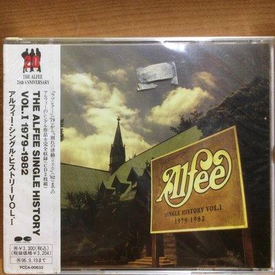 CD The Alfee Single History Vol.1 1979-1982 2 CD (OBI) (Japan) 全新未拆 (100% Brand