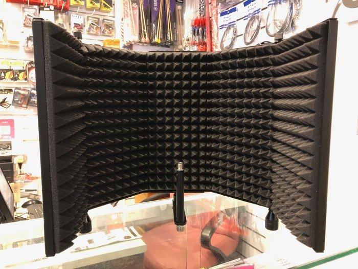 【六絃樂器】全新 ECS-333 麥克風遮音罩 防串音 防反射 / 工作站錄音室