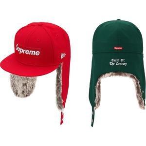 【美國鞋校】預購 SUPREME FW19 Earflap New Era 遮耳 棒球帽