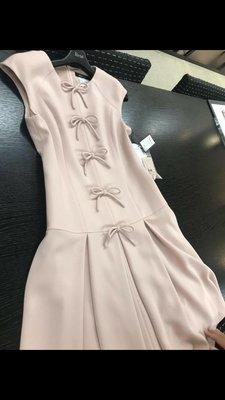 Rene 2020最新春装 黑色小蝴蝶結洋裝36=Ms 38.40🍒誠可小議 🍀全館免運🌸日本女主播愛牌
