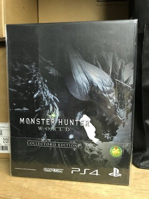 全新 PS4 Monster hunter world 特典 box 魔物獵人