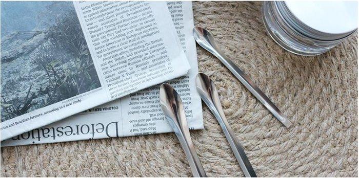 化妝品diy口紅工具 攪拌勺 口紅粉稱量勺 大中小 一套三把小鐵勺
