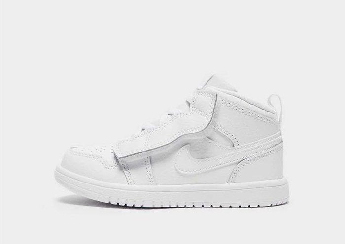 南 2020 8月 AIR JORDAN 1 AJ1代 全白色 喬丹  童鞋 小童鞋  喬丹 高統 兒童