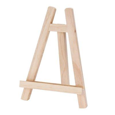 阿里家 木制桌面臺式展示架 小畫架相冊廣告架宣傳架