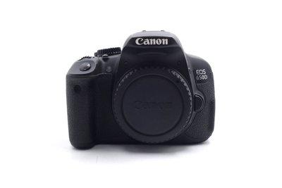 【台中青蘋果】Canon EOS 650D 單機身 二手 單眼相機 公司貨 快門次數約21,307 #62326