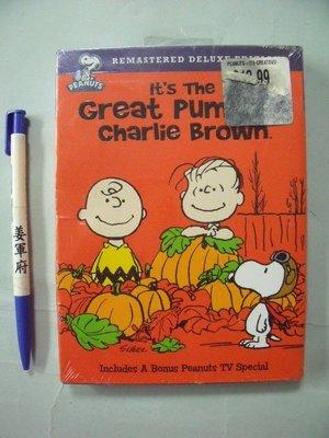 【姜軍府】全新!《It's the Great Pumpkin, Charlie Brown DVD》SNOOPY史努比