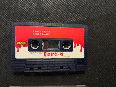 錄音帶 /卡帶/ 24F / 裸片 歷史的傷口 相關/ 全世界中國人 自由的怒吼 / 天安門的怒吼 / 龍的傳人 / 非CD非黑膠
