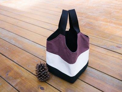 【嬤包】手作大提袋/便當袋-紅豆沙包 內裏防水布升級版