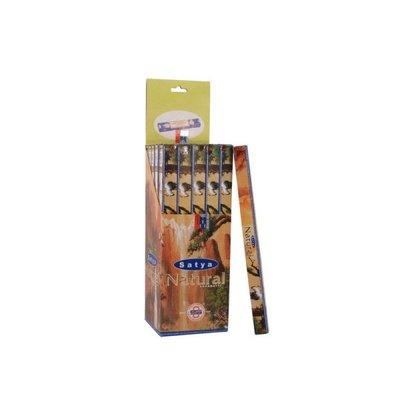 [晴天舖]印度線香 Satya Natural (木質甜味)賽巴巴同門驚豔上市!!10G